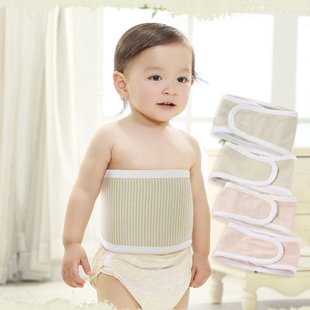기본형 스트라이프 배앓이 방지 니퍼(0-3세) 203003 아기복대 복대 배앓이방지 니퍼 보온니퍼 아기옷 유아옷 배가리개 아기배앓이방지 유아배앓이방지 엠케이