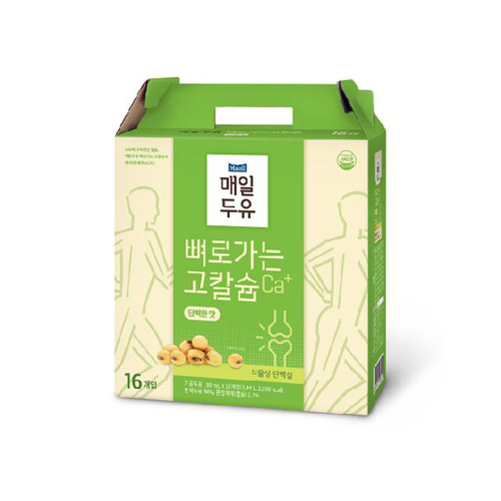 매일유업 뼈로가는 칼슘두유 담백한맛 190ml 16입 매일두유 맛있는두유 두유 우유 밀크