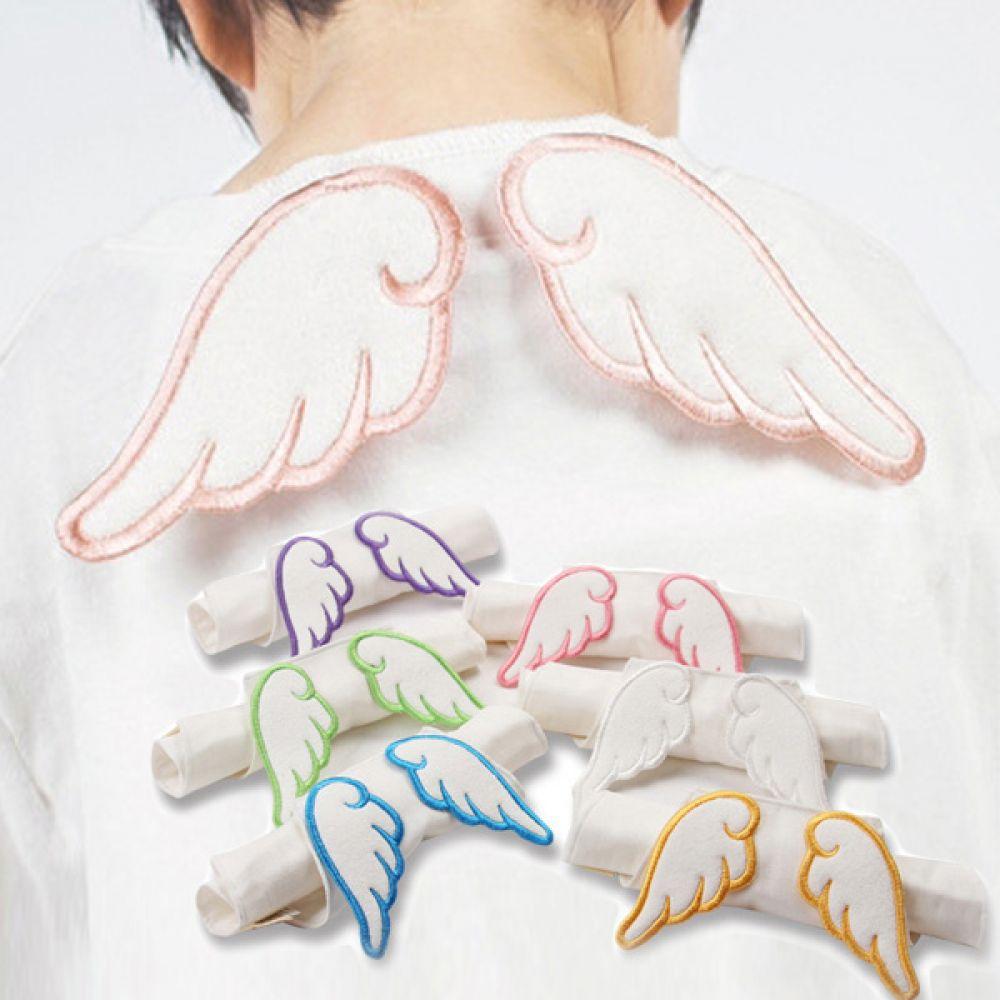 베이비백 엔젤 아기 땀받이 500014 턱받이 아기턱받이 면턱받이 유아턱받이 이유식턱받이 영유아턱받이 엠케이 조이멀티