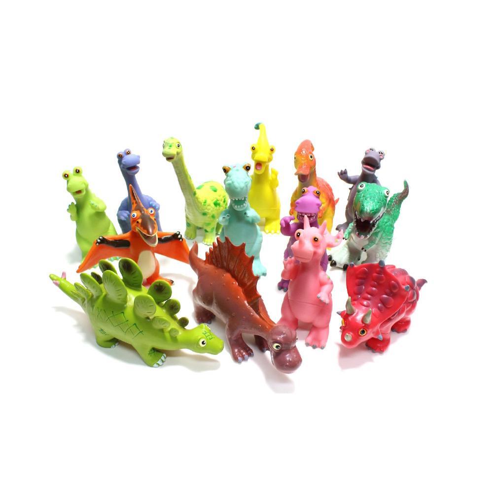 어린이날 어린이집 놀이 교구 소프트 공룡 14종세트 완구 어린이집 유아원 초등학교 장난감