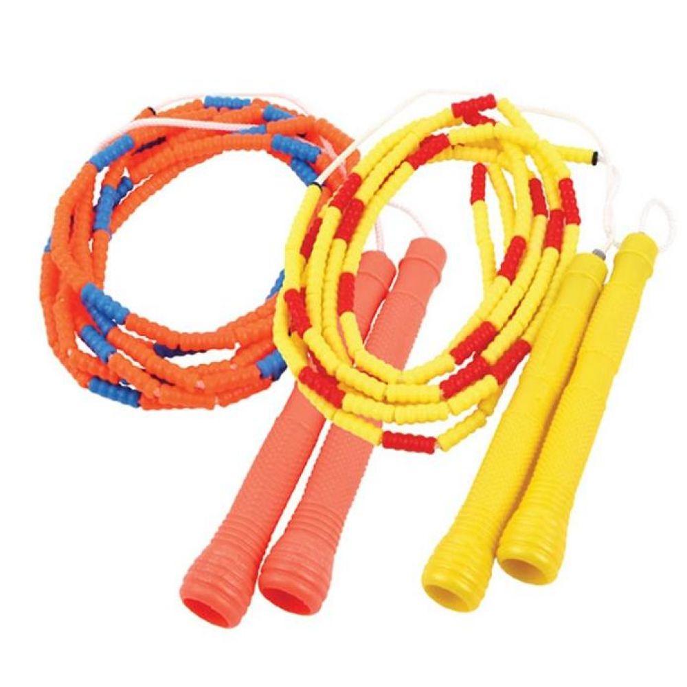 안전구슬 단체줄넘기 3.1m 2개SET 짝줄 헬스용품 트레이닝용품 홈트레이닝용품 체력단련용품 줄넘기 기초체력운동용품 단체줄넘기