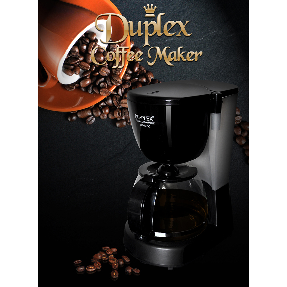 DUPLEX 커피메이커 DP505C 가정용커피머신 업소용커피메이커 커피머신 미니커피메이커 반자동커피머신