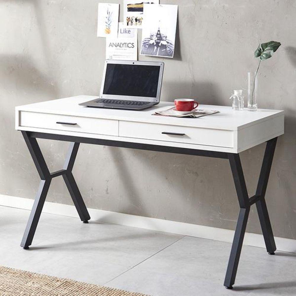 스토리홈 심플 수납 테이블 1200 책상세트 컴퓨터책상 독서실책상 학생책상 사무용책상