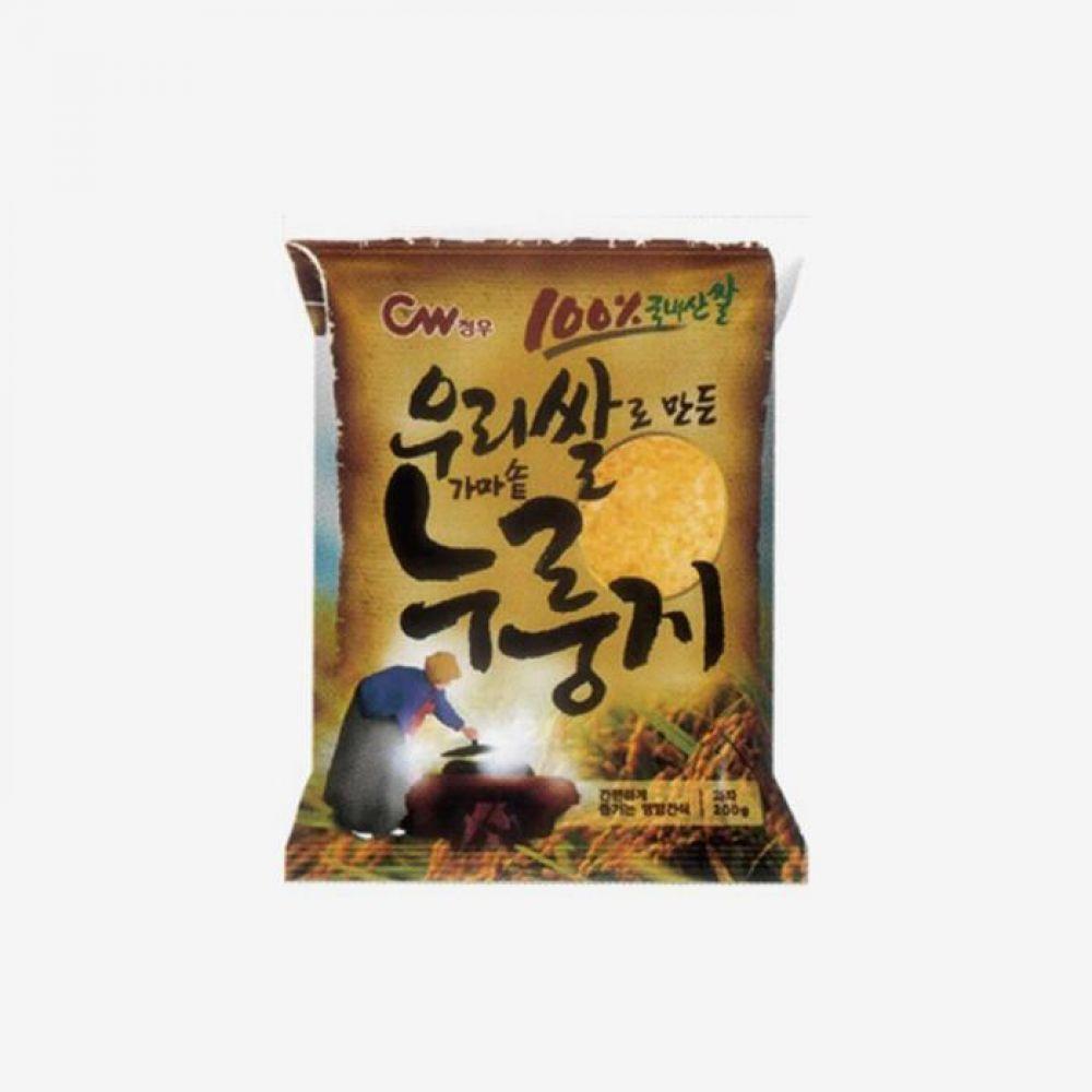 청우 가마솥 누룽지 200g 1박스 청우식품 간식 주전부리 스낵 과자 캔디 가마솥 누룽지