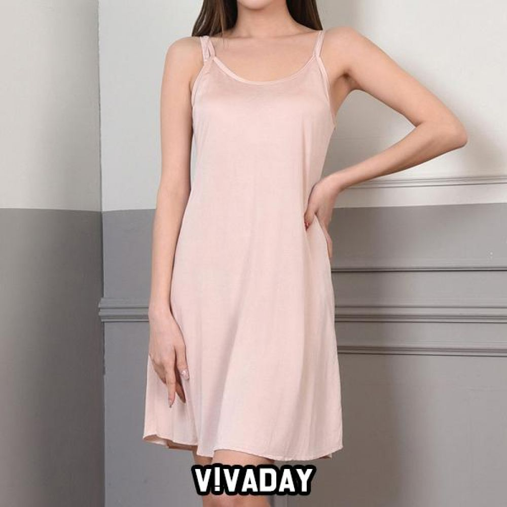 VIVADAY-SC320 부드러운 여성 끈원피스 팬티 속바지 트렁크 속치마 속옷 여성속옷 남성속옷 런닝 나시 반팔