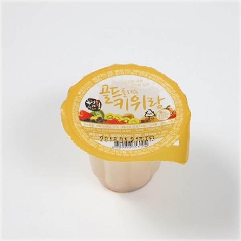 봉평 골드플러스 키위랑 120ml x 80개(1box) 음료 급식 전통 주스 후식