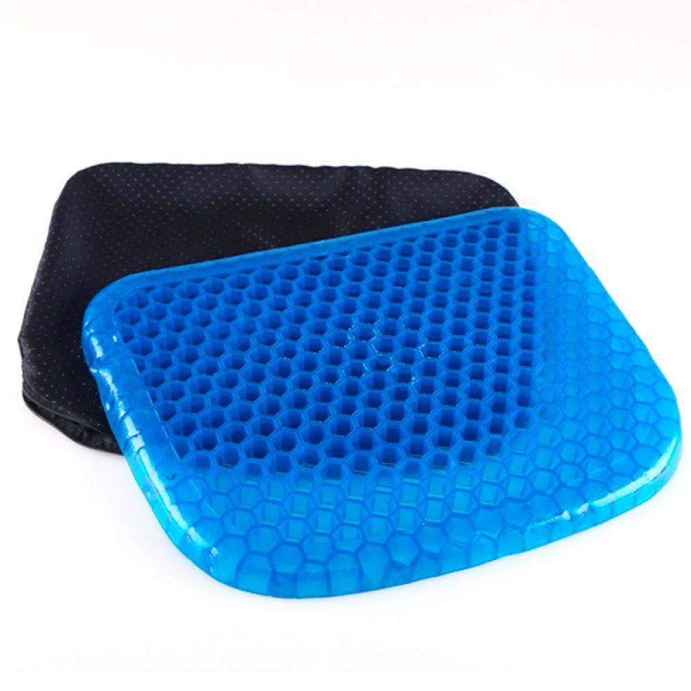 실리콘 기능성 방석 벌집 육각 푹신한 의자방석 기능성방석 의자방석 말랑한방석 푹신한방석 학생방석 사무용방석 자동차방석