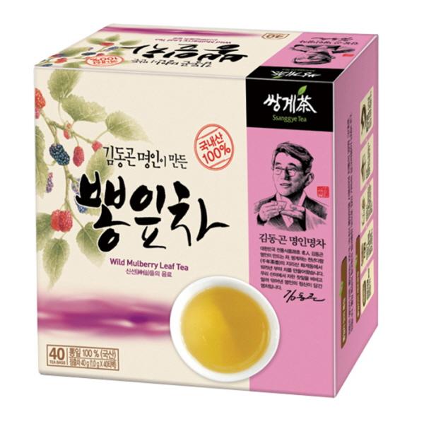 김동곤 명인이 만든 뽕잎차 1.0gX40T 쌍계명차