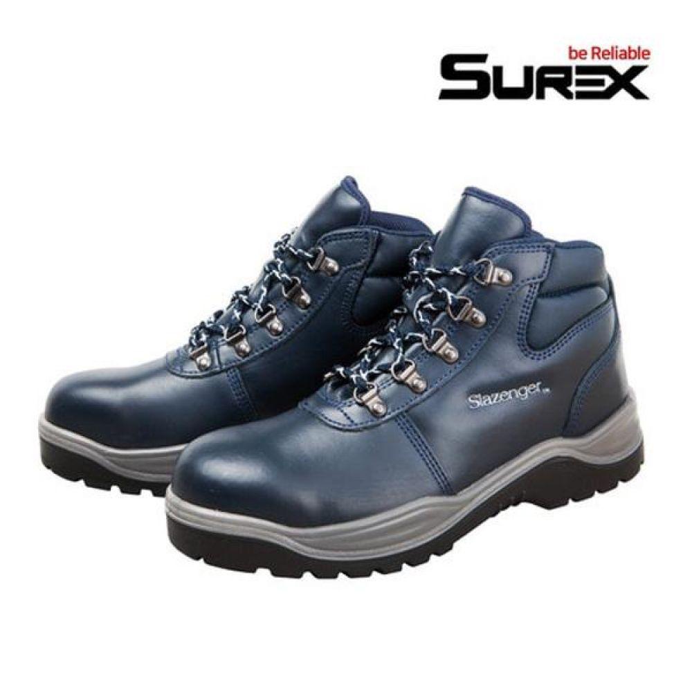 슈렉스 SR-602 6in 경작업용 중단화 안전화 작업화 안전화 SUREX 슈렉스 가죽안전화 작업화 현장화 작업신발