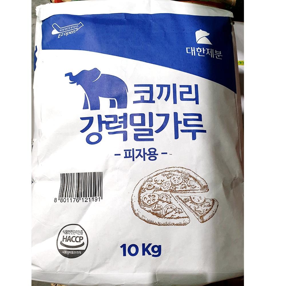 식자재 강력 밀가루 코끼리 피자용 10kg 업소용 전문 밀가루 고급밀가루 강력밀가루 강력분 식자재