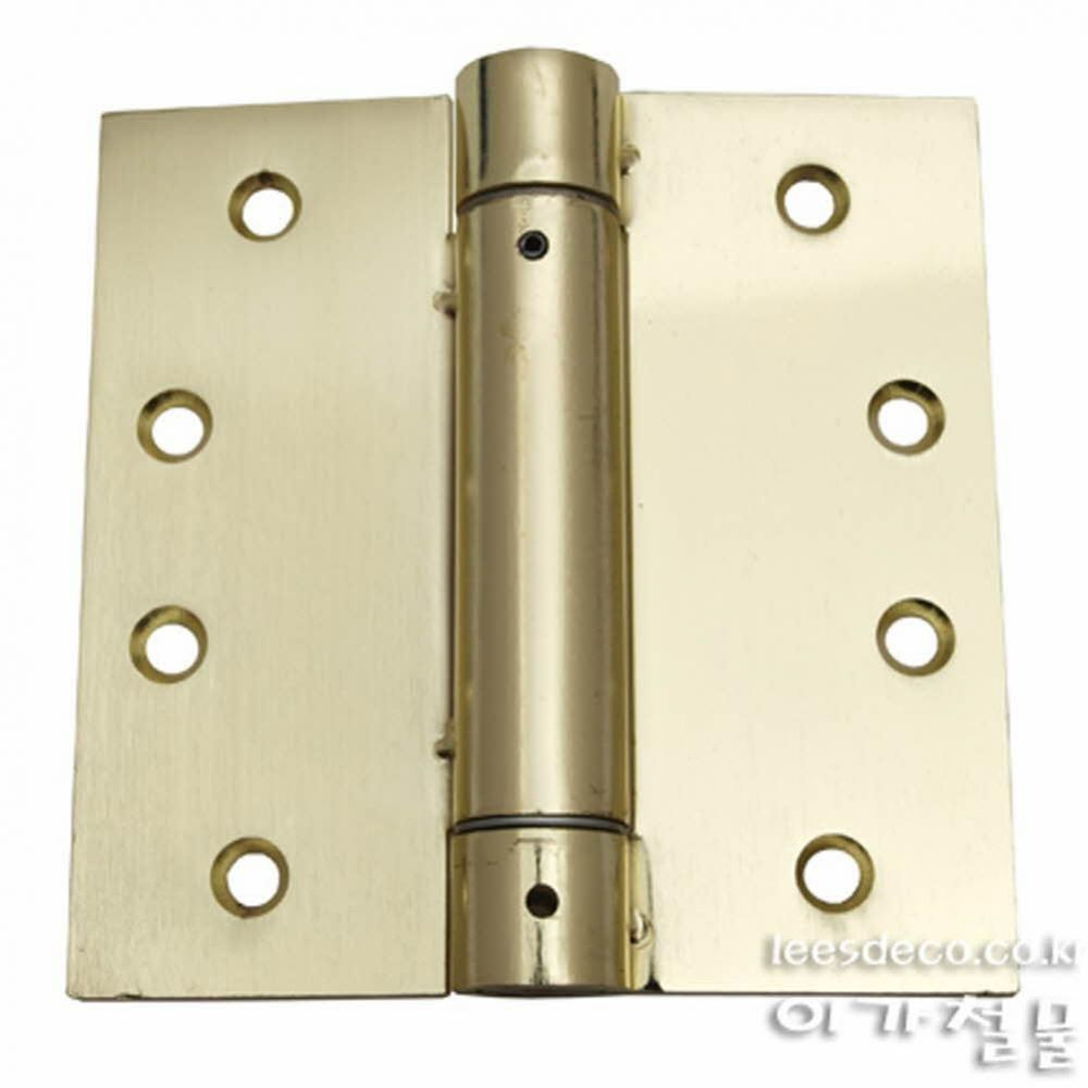 UP)스프링경첩SB-4인치 생활용품 철물 철물잡화 철물용품 생활잡화