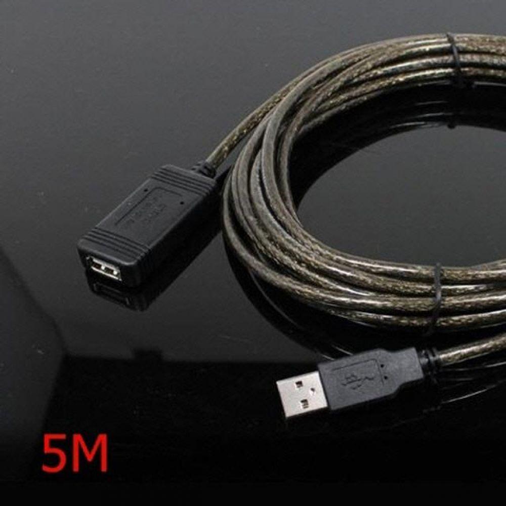 480Mbps 무전원 USB2.0 리피터 연장 케이블 5M 컴퓨터용품 PC용품 컴퓨터악세사리 컴퓨터주변용품 네트워크용품 usb연장케이블 usb충전케이블 usb선 5핀케이블 usb허브 usb단자 usbc케이블 hdmi케이블 데이터케이블 usb멀티탭