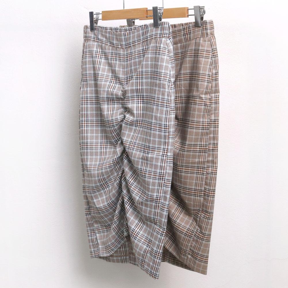 미시옷 6727L910 체크 셔링 스커트 MO 빅사이즈 여성의류 빅사이즈 여성의류 미시옷 임부복 셔링미디체크스커트