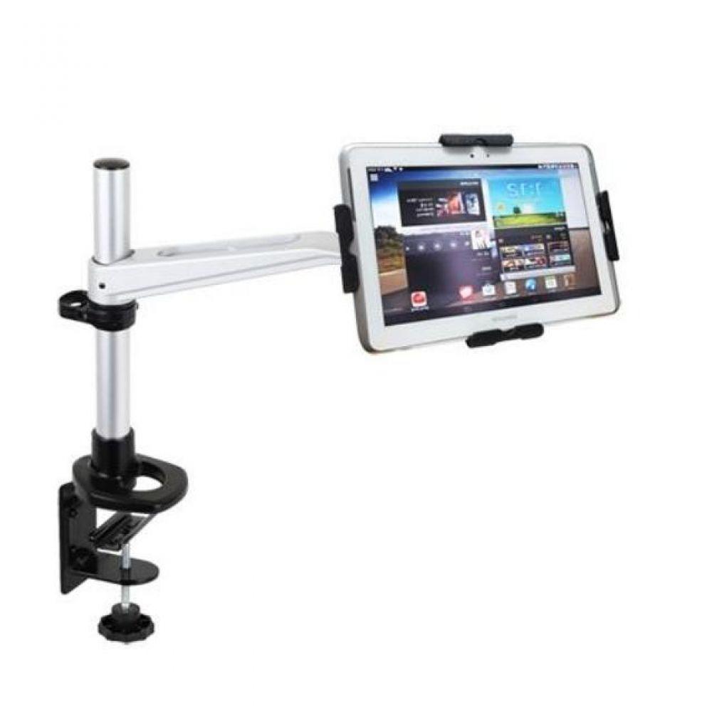 N300 LED 탁상 브라켓 태블릿 거치대세트(9-13형) 태블릿거치대 실용적 견고한스틸본체 가성비좋은 감각적인디자인 스탠드거치대 튼튼한거치대 높이조절 상하좌우 각도조절