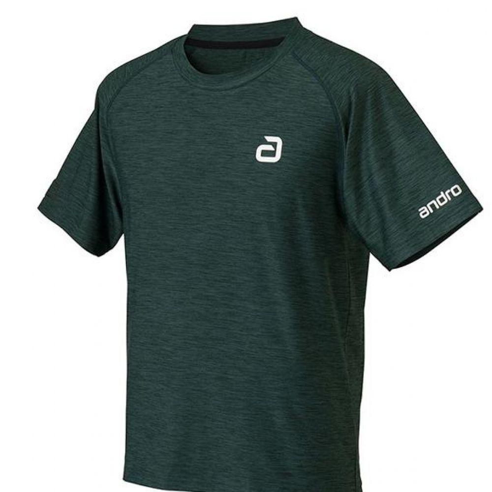 안드로 알파 탁구유니폼 반팔티 그린 남여공용 탁구유니폼 탁구용품 탁구유니폼상의 탁구유니폼티셔츠 탁구티셔츠