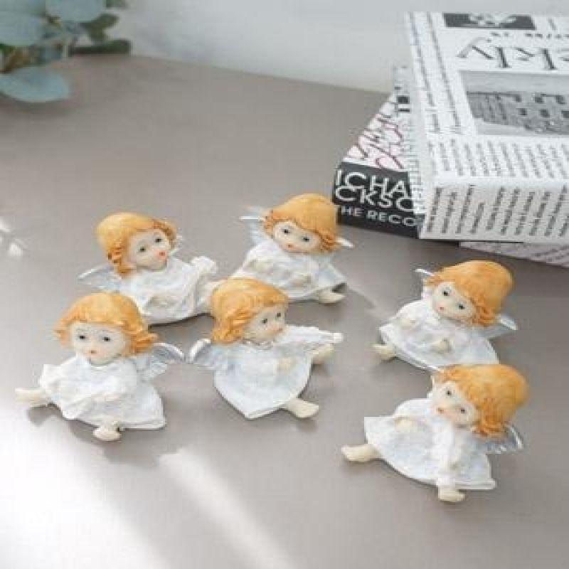 악기연주하는 아기 천사 6P