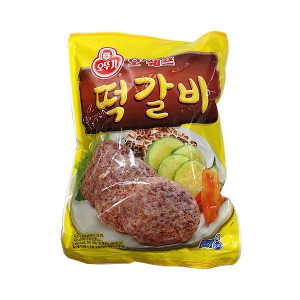 (냉동)오쉐프 떡갈비1kg 오쉐프 냉동떡갈비 떡갈비 식자재 식재료