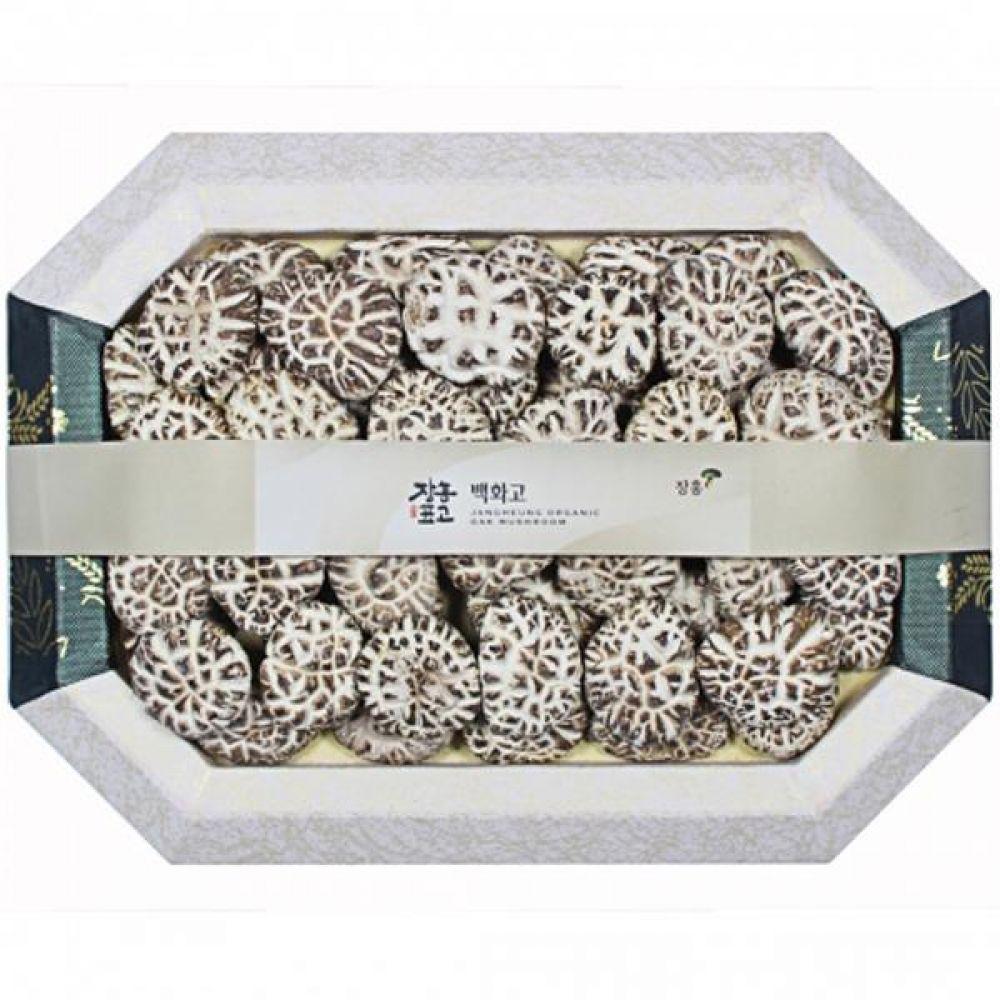 백화고1호 (중)500g 쇼핑백 보자기포장 식품 농산물 채소 표고버섯 선물세트