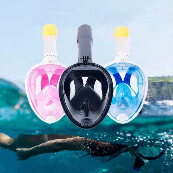 스노쿨링마스크 수경 물안경 스노클링 일체형 스노클 수경 잠수경 스노클링마스크 튜브