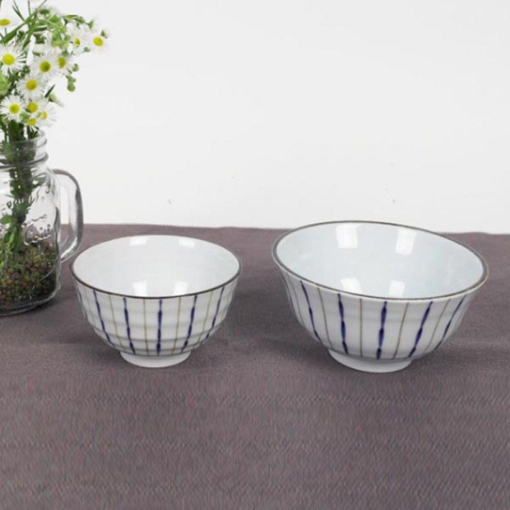 공대시리즈 오키드 블루 공기 4P 밥그릇 주방용품 주방용품 밥그릇 공기 예쁜그릇 그릇