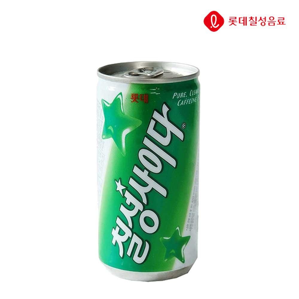 탄산음료 칠성사이다 캔 190ml X 30개 (일반용) 탄산음료 사이다 칠성사이다 업소용사이다 음료수