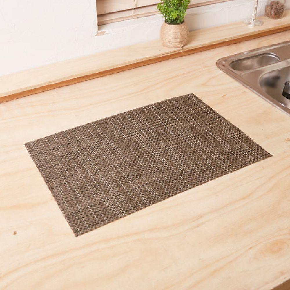 식탁매트 그레이브라운 주방용품식탁 테이블매트 테이블매트 주방용품식탁 식탁매트 테이블웨어