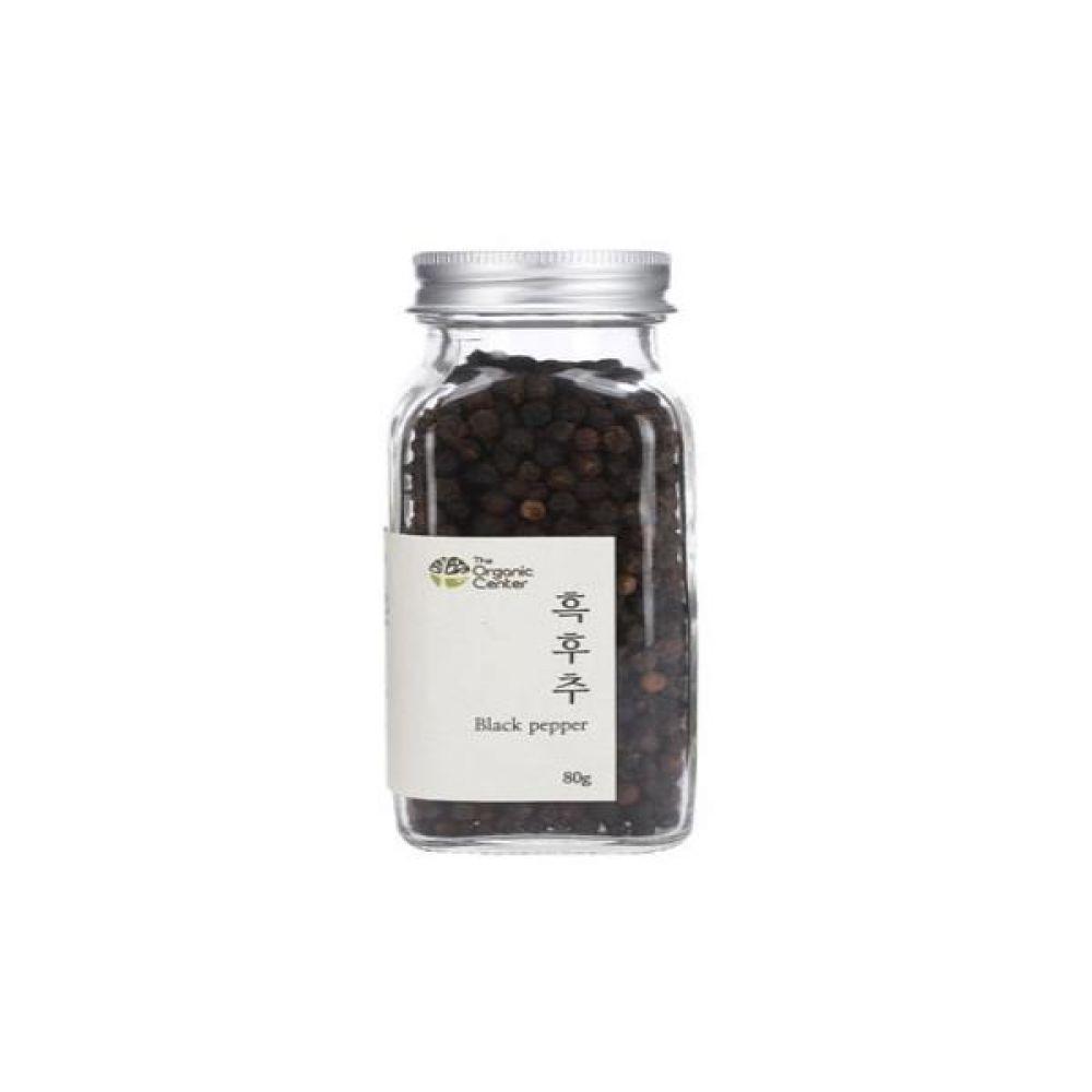 (오가닉 향신료)통 흑후추 80g 건강 견과 조미료 후추 냄새