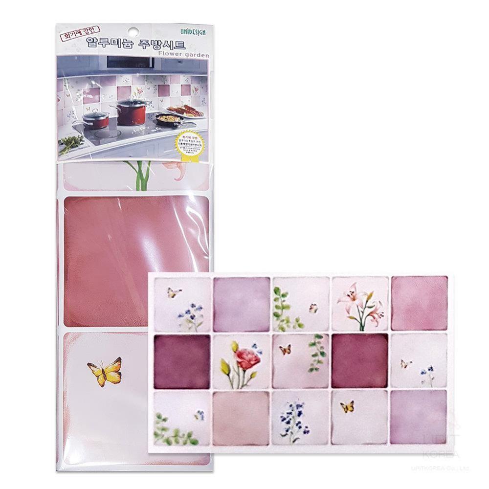 알루 주방시트 (플라워가든-소)_1122 생활용품 잡화 주방용품 가정잡화 주방잡화