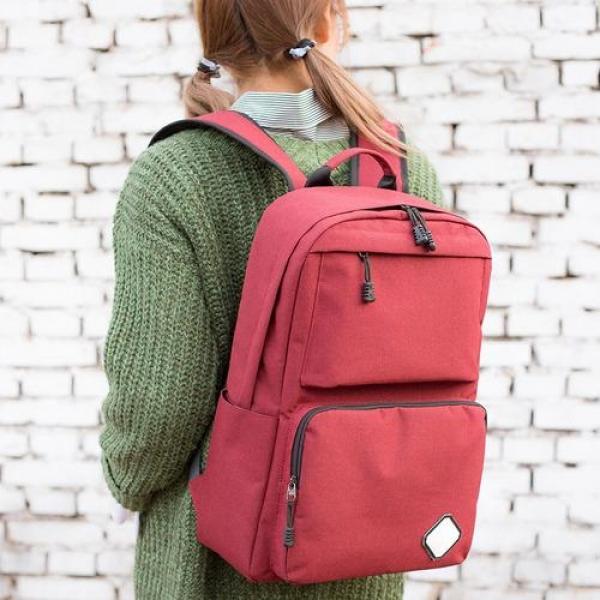 F7072 백팩 남여공용 캐주얼백팩 캔버스가방 M2 백팩 노트북백팩 배낭 학생백팩 노트북가방 학생가방
