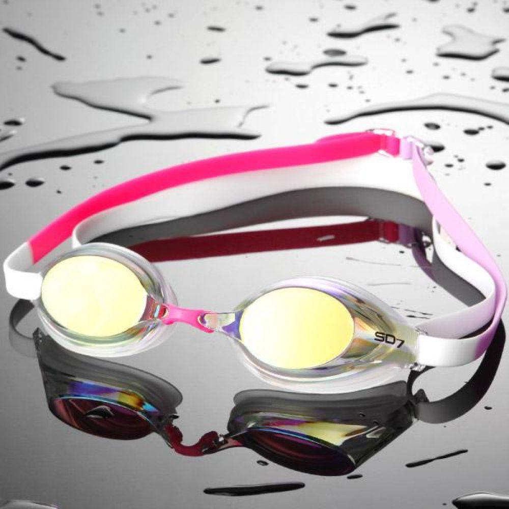 SGL-7600S_CLWH SD7 선수용 컬러믹스 수경 수영용품 물안경 남자수경 여자수경 성인물안경
