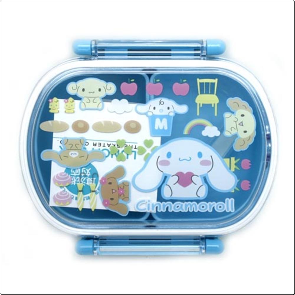 시나모롤 둥근도시락(일)-0405 캐릭터 캐릭터상품 생활잡화 잡화 유아용품