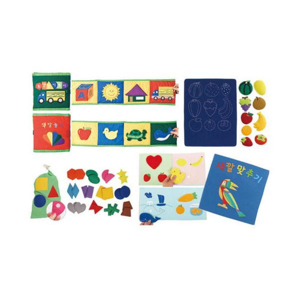 매직 색깔 모양 놀이 4종세트 완구 문구 장난감 어린이 캐릭터 학습 교구 교보재 인형 선물