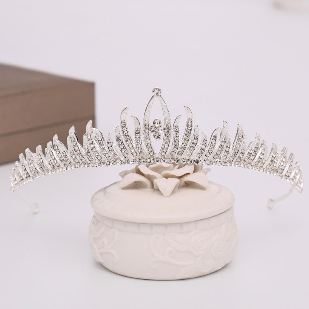 셀프웨딩 브리든 티아라 웨딩 헤어장식 왕관 머리장식 신부헤어 왕관장식 왕관 신부머리장식 머리장식