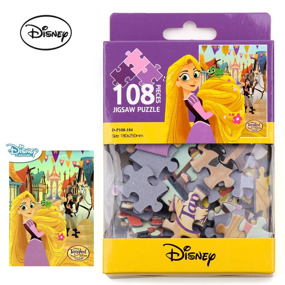 토이앤퍼즐 디즈니 미니 직소퍼즐 108P (라푼젤) 직소퍼즐 퍼즐 퍼즐놀이 캐릭터 아동퍼즐