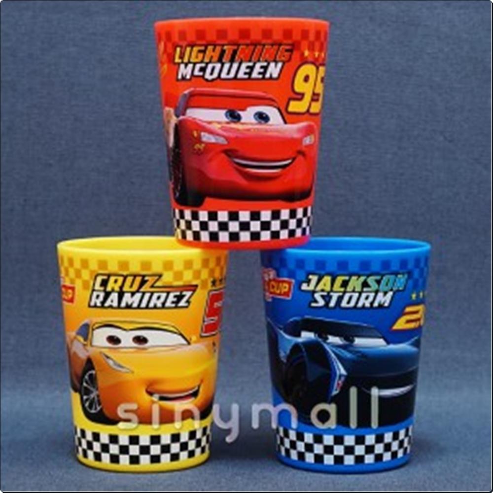 (디즈니Cars) 카3 3P 컵 세트 180ml (069117) 캐릭터 캐릭터상품 생활잡화 잡화 유아용품