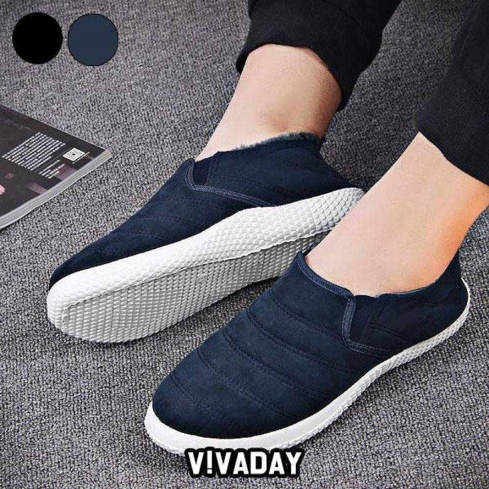 VIDS-SS224 패딩슬립온 스니커즈 로퍼 플랫 단화 운동화 데일리운동화 패션운동화 모카신 방한화 겨울신발