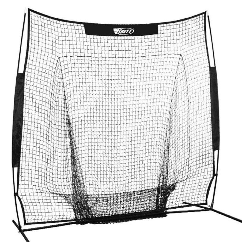 배팅연습 투구연습용 브렛 연습망 244cm x 244cm 야구용품 야구훈련용품 배팅연습그물망 피칭연습그물망 피칭연습망