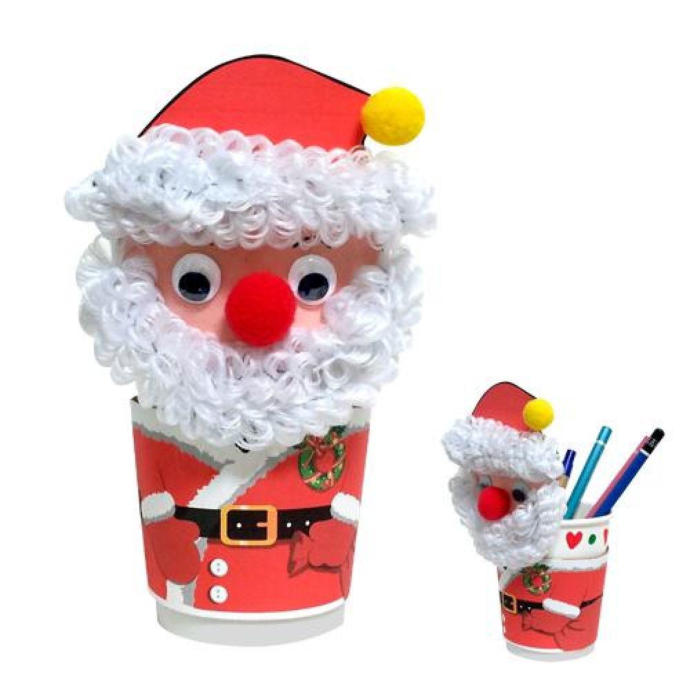 크리스마스 산타 연필통 만들기
