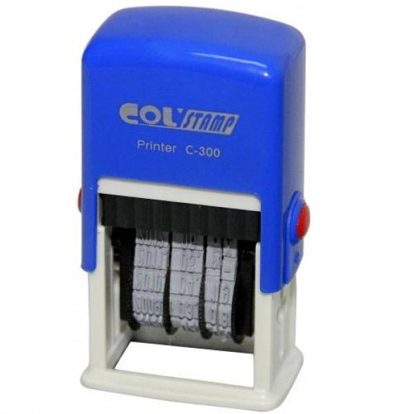 만년구문일부인 C-300 COLSTAMP 잉크 패드 인주 인장 스탬프 스템프 도장 문구 사무