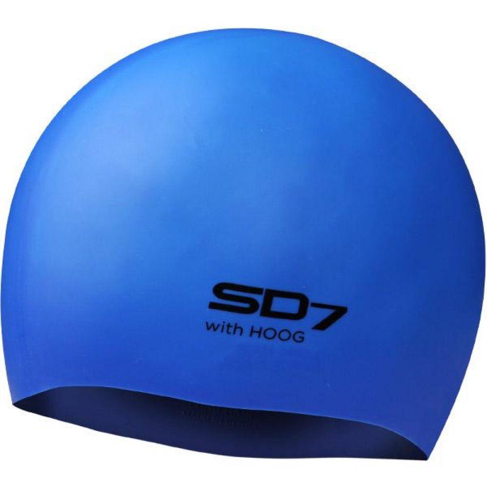 SGL-CAL005 Blue SD7 롱헤어 실리콘 수모 실리콘수모 수영모자 수영용품 수영모 수영수모
