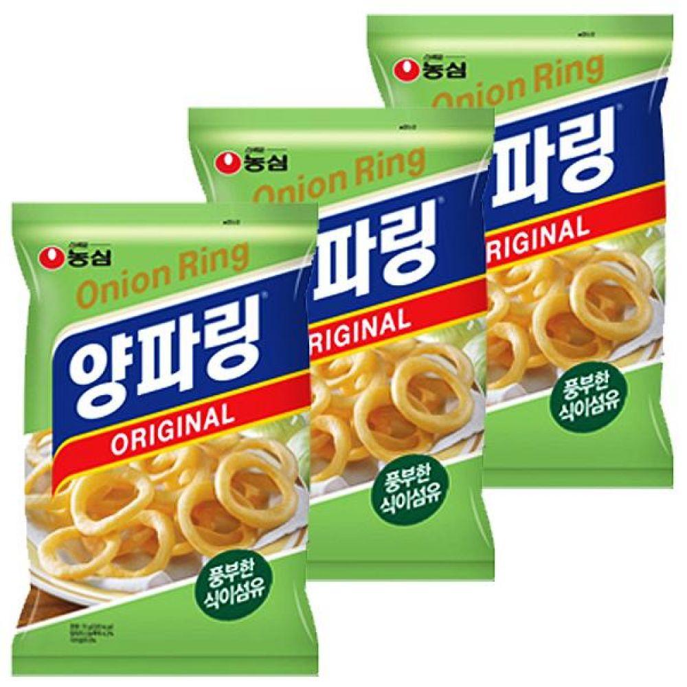 농심) 양파링 84gx10개 몸에 좋은 양파 식이섬유 과자 스낵 간식 대량도매 도매