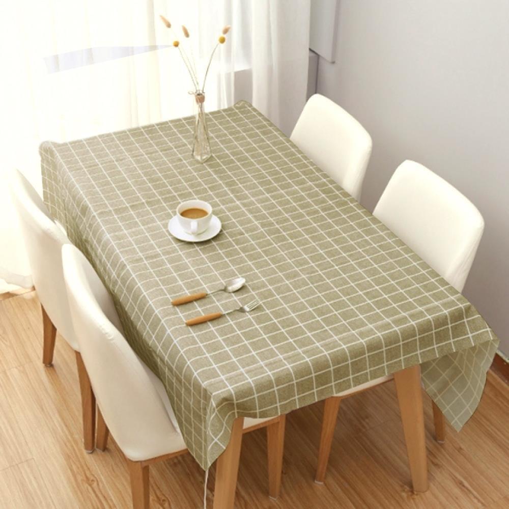 식탁보 격자무늬 테이블커버 방수 방수테이블보 테이블매트 방수테이블보 식탁러너 식탁보 테이블커버