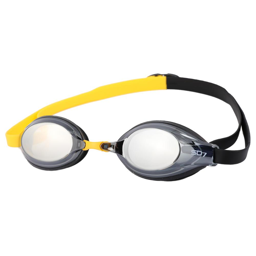 SGL-7600-BKYLBK SD7 선수용 수경 수영용품 물안경 남자수경 여자수경 성인물안경