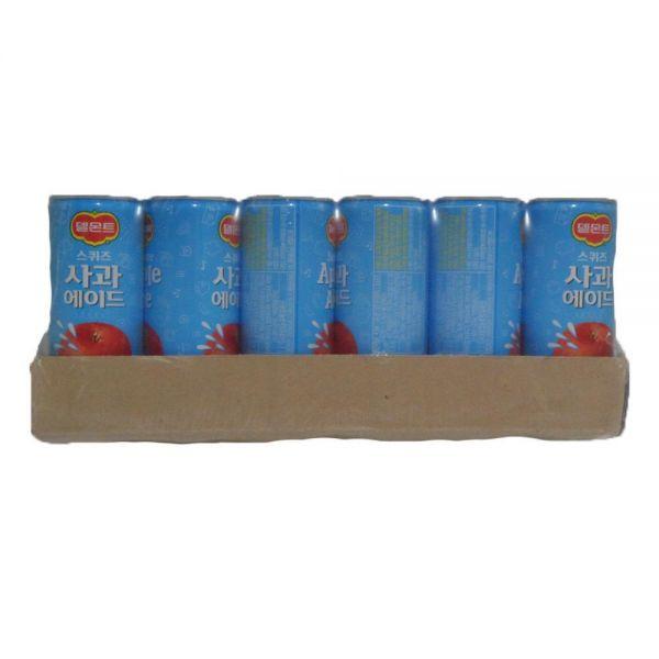 델몬트 스퀴즈 사과 에이드 음료수도매 240mlX30캔 업소용음료수 음료도매 캔마켓 업소용캔음료 업소용음료 음료수도매사이트 캔음료 음료유통