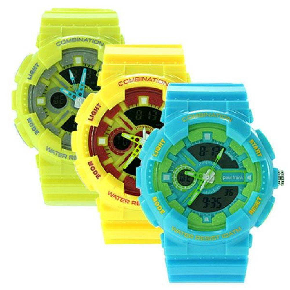 폴프랭크 손목시계 PFJ132 PAULFRANK 캐릭터손목시계 방수시계 스포츠패션손목시계 어린이손목시계