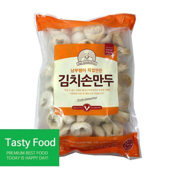 (냉동)사조남부햄 김치손만두1.4kgX10개 만두 사조남부햄 김치손만두 식자재 식품