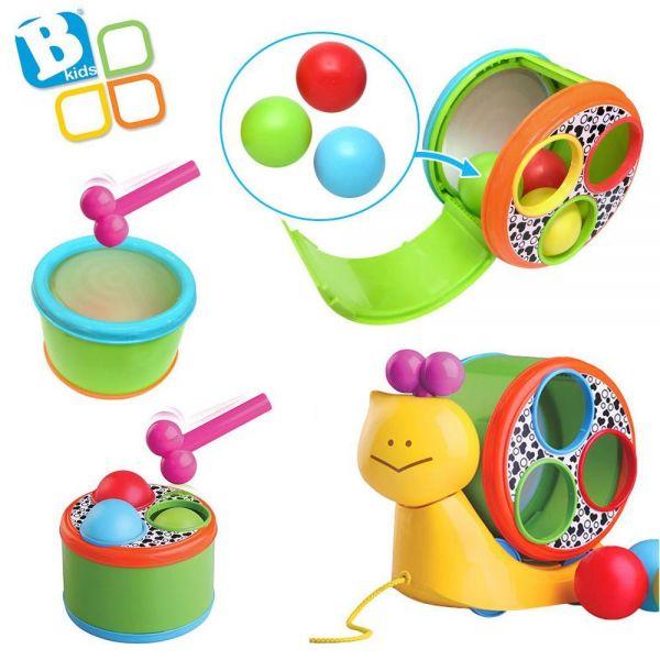 비키즈 비트드럼 달팽이 (004882) 인형 애들인형 어린이인형 인형장난감 장난감