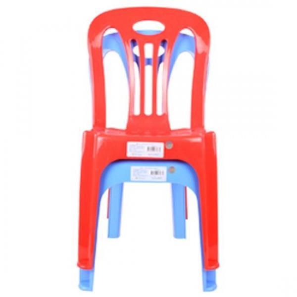솔리드 등받이 의자(색상램덤)250x280x580mm 파라솔의자 편의점의자 미니의자 사각의자 야외용의자