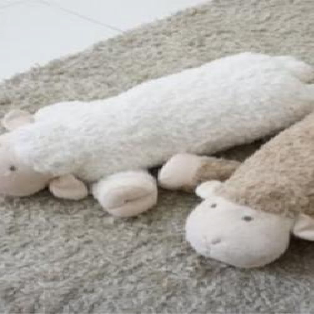 양 베개 (화이트.베이지.연핑크) 홈데코 거실인테리어 방인테리어 인테리어소품 귀여운베개