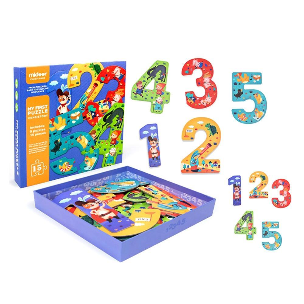 선물 3살 3세 유아 퍼즐 놀이 숫자 15P 어린이날 생일 퍼즐 어린이교구 창의교구 아동퍼즐 창작놀이